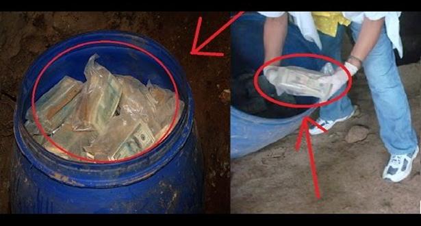 بالفيديو.. رجل يعثر على 600 مليون دولار مدفونة في أرضه!