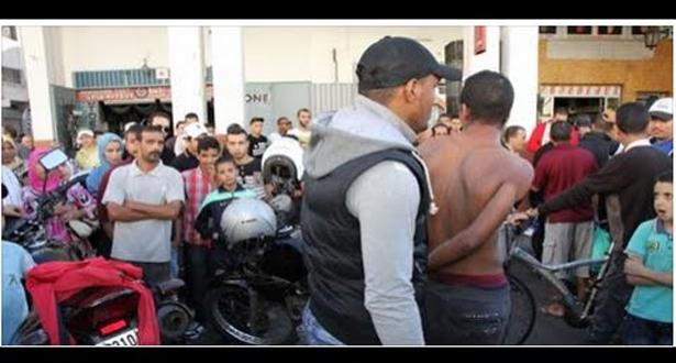 بالفيديو.. لحظة القبض على مجرم خطير بمدينة تمارة
