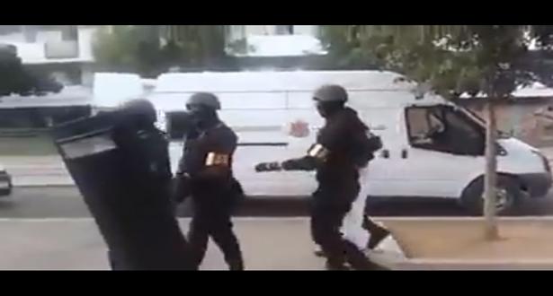 بالفيديو.. لحظة القبض على إرهابي بدرب غلف بالبيضاء