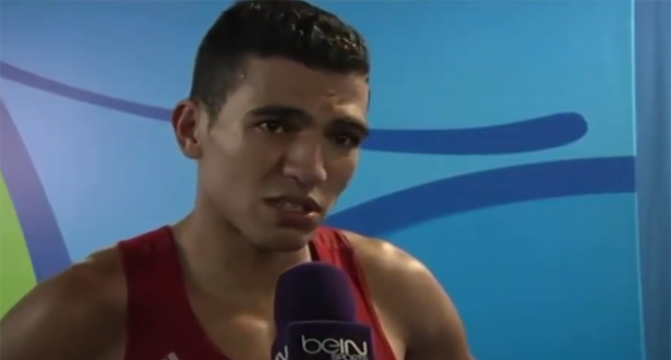 تصريح الملاكم محمد الربيعي بعد بلوغه نصف نهائي ريو 2016