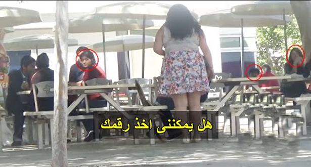 فيديو.. فتاة سمينة تطلب رقم شاب ويرفض ثم يكشتف أنها غنية شاهد ماذا حدث