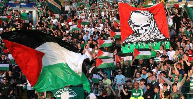 جماهير سيلتيك تتحدى العقوبات وتجمع التبرعات لصالح الفلسطينيين