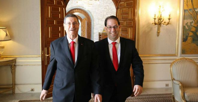تونس: تسليم السلط بين حكومتي الشاهد والصيد يوم الإثنين