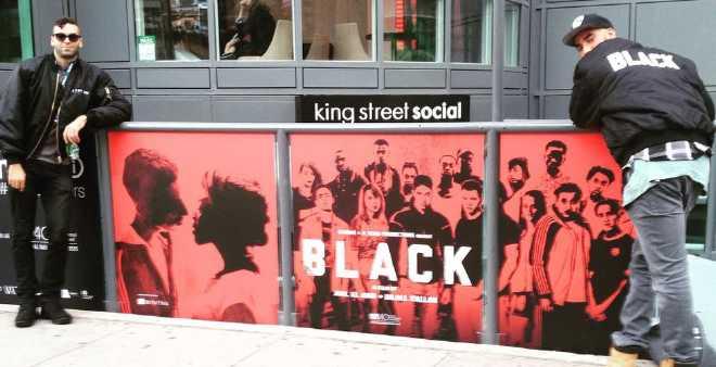 فيلم « Black »..تذكرة مخرجين مغربيين من بلجيكا إلى هوليود