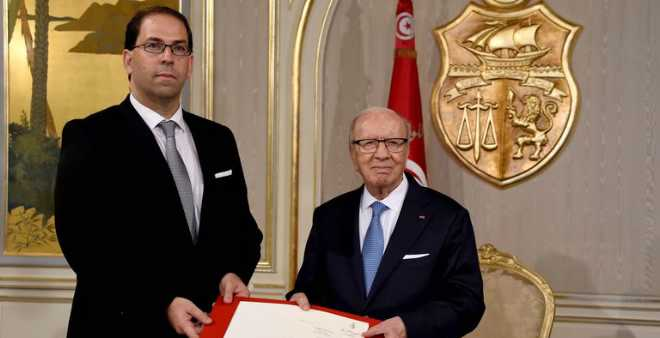 تونس: يوسف الشاهد يؤكد أنه لن يمس التشكيلة الحكومية أي تغيير