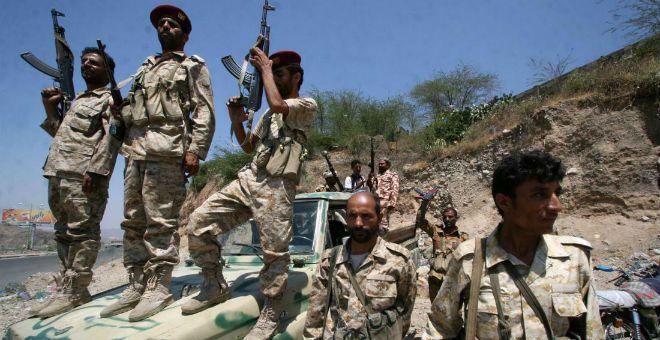التحالف العربي في اليمن يطلق عملية تحرير أبين من