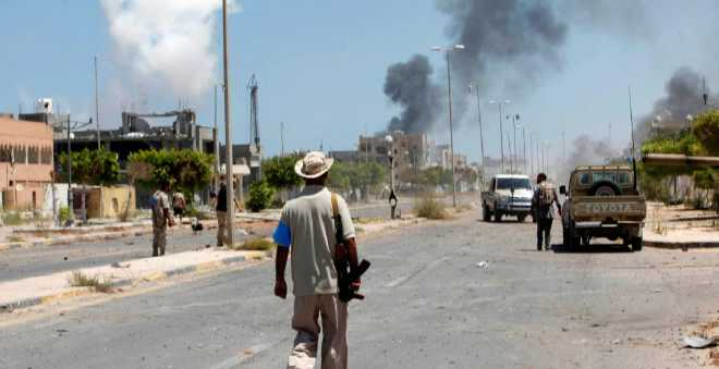 ليبيا: معركة تحرير مدينة سرت بشكل كلي لم تكتمل