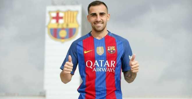 رسميا برشلونة يتعاقد مع المهاجم باكو ألكاسير