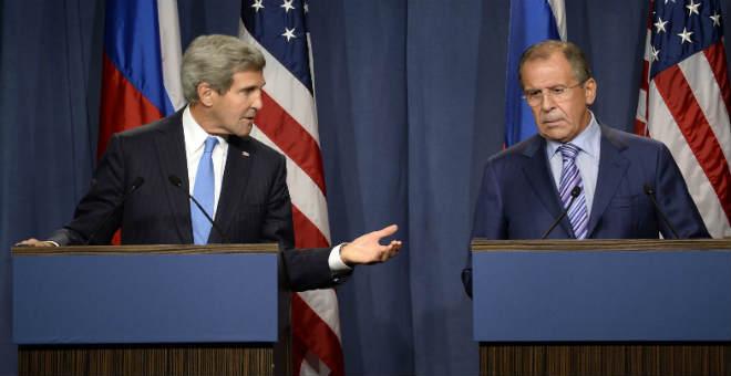 واشنطن وموسكو تعلنان قرب التوصل إلى وقف لإطلاق النار في سوريا