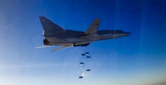 لأول مرة ..روسيا تقصف أهدافا  في سوريا انطلاقا من قاعدة في إيران !