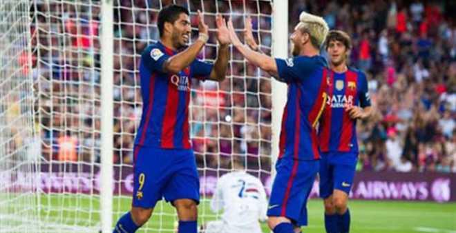 برشلونة يهزم إشبيلية ويقترب من كأس السوبر الإسباني
