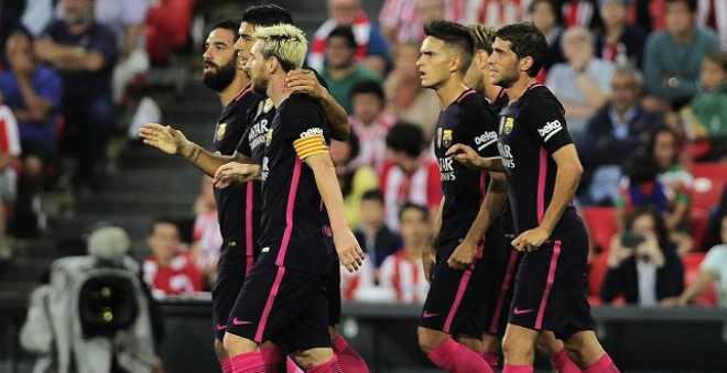 برشلونة يحقق فوزا مهما خارج الكامب نو