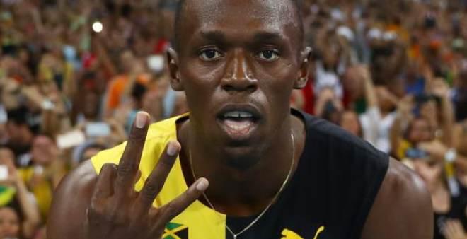 أسرع رجل في العالم ينتزع ذهبيته الثالثة في أولمبياد ريو2016