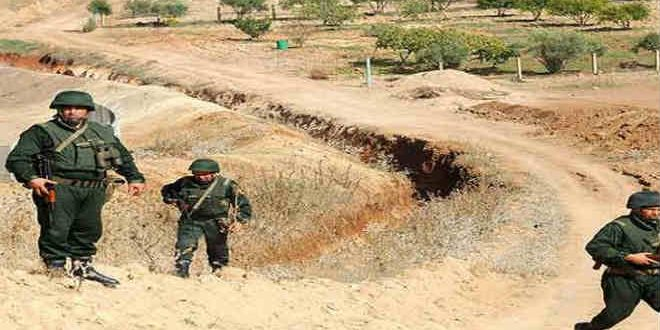 الحدود مع المغرب