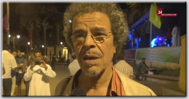 عبد الحق الزروالي: لولا المسرح لكنت إما في السجن أو مستشفى المجانين
