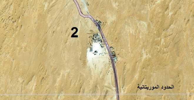البؤرة الثانية (على الحدود الموريتانية)