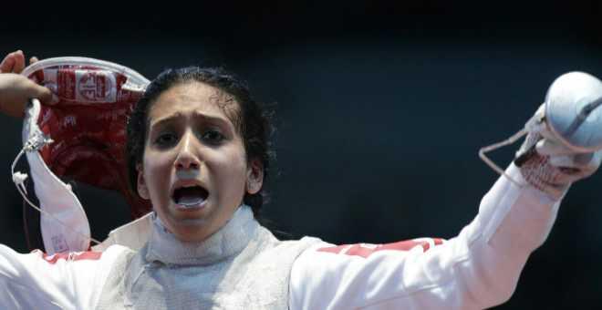 إيناس البوبكري تهدي تونس ميداليتها الأولمبية ال11