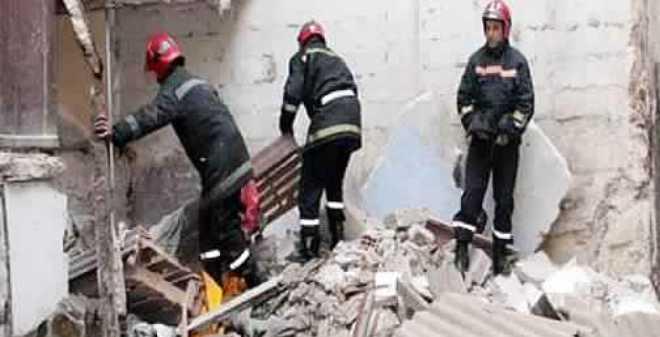 انهيار حائط  نواحي مراكش يقتل طفلتين ووالدهما في صباح باكر