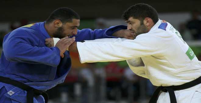 ريو 2016: إسلام بطل الجودو المصري ينهزم أمام منافسه الإسرائيلي
