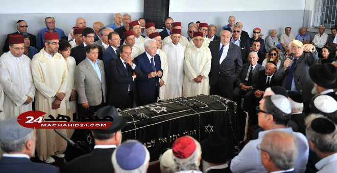 """تشييع جنازة """"بوريس توليدانو"""" رئيس الطائفة اليهودية بالدار البيضاء"""