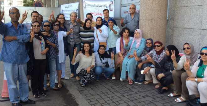 نقابة الصحافة تجدد المساندة للصحافيين والمستخدمين المعتصمين بماروك سوار