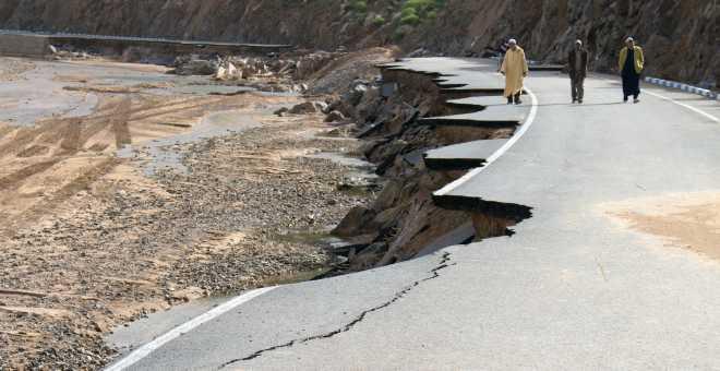 تقرير: المغرب بلد مهدد بمخاطر الكوارث الطبيعية