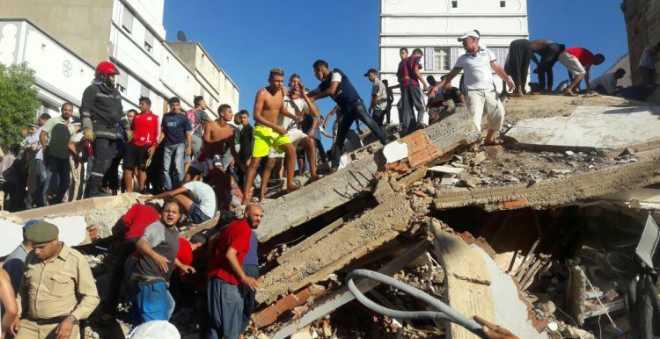 مراكش. مقتل ثلاثة أشخاص بينهم طفلان في انهيار منزل