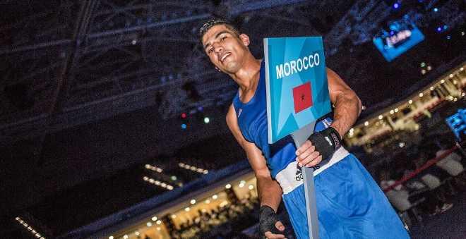 ريو 2016: الملاكم محمد الربيعي يتأهل لنصف النهائي