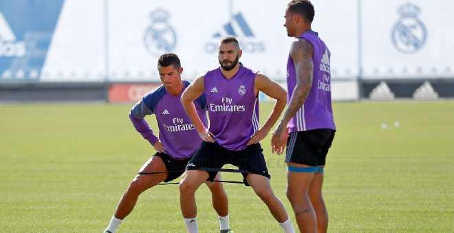 كريستيانو رونالدو يعود لتداريب ريال مدريد
