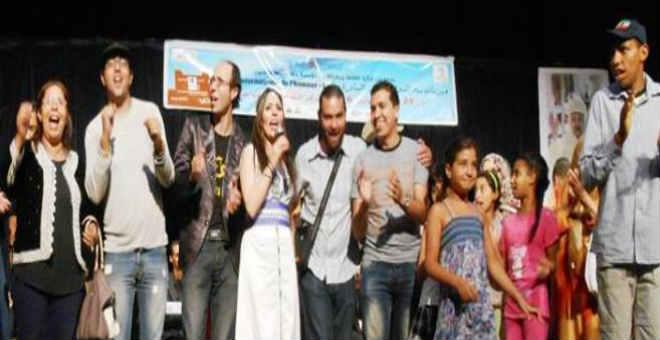 نجوم تألقت في مهرجان سلا الدولي للفنون الساخرة
