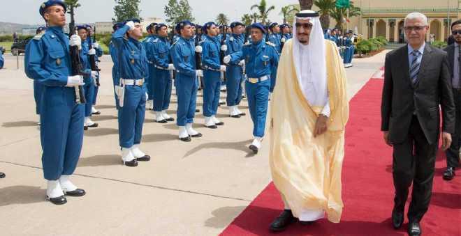 الملك سلمان يغادر مدينة طنجة بعد قضاء إجازته الخاصة