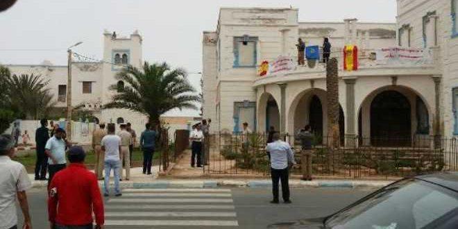 64 شهرا حبسا نافذا في حق مقتحمي القنصلية الاسبانية بسيدي إفني