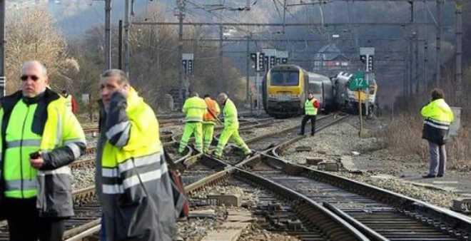 7 جرحى في هجوم مسلح على قطار بسويسرا