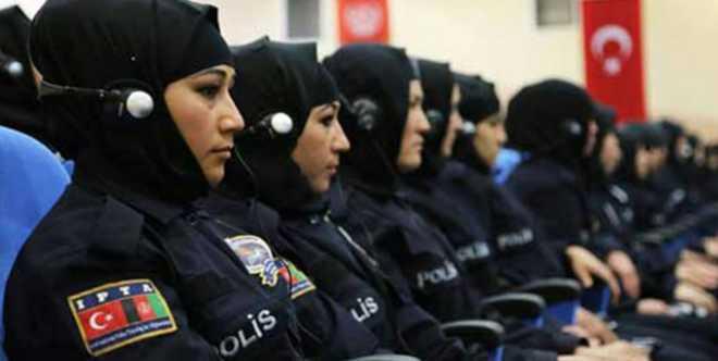 تركيا تسمح للشرطيات بارتداء الحجاب.. لكن بشروط!