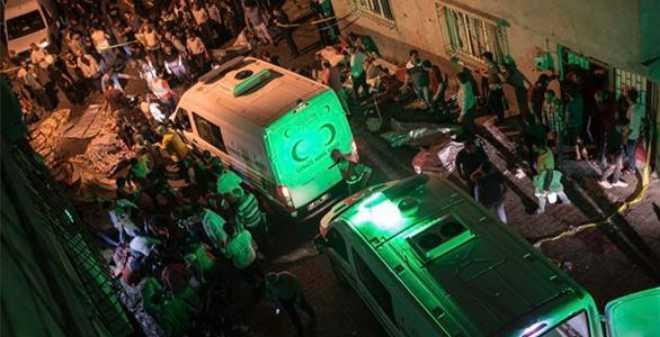 50 قتيلا وعشرات الجرحى في تفجير إنتحاري بتركيا وأردوغان يتهم