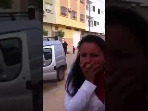 فيديو صادم 18+ انتحار فتاة من مدينة مكناس