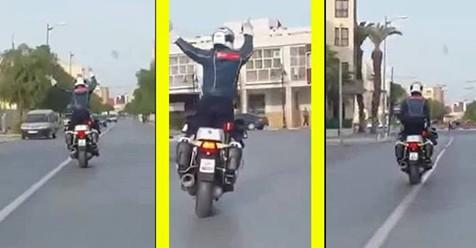 فيديو الشرطي المغربي الذي أثار ضجة على مواقع التواصل الاجتماعي