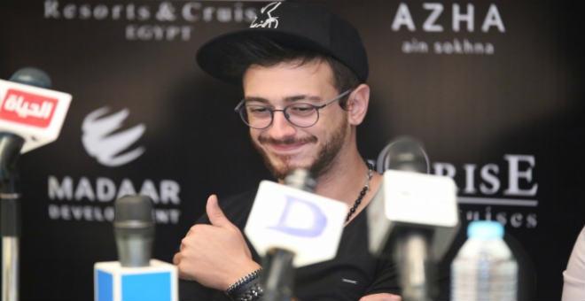 في مؤتمره الصحافي بشرم الشيخ.. سعد المجرد يعد جمهوره بمفاجأة