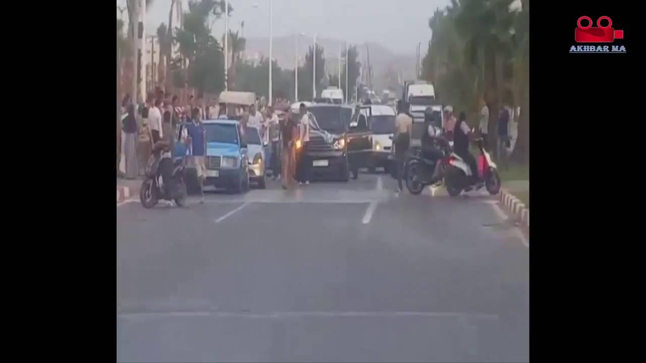 عرس مغربي يتحول إلى معركة وسط الشارع العام