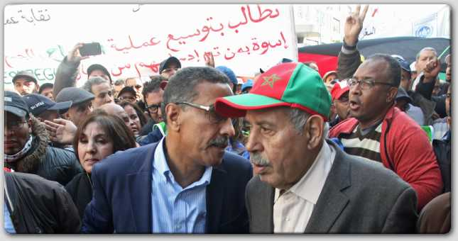 تنظيم نقابي  مغربي  يدعو  إلى التصويت العقابي ضد أحزاب الحكومة