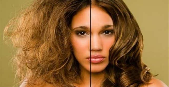 طريقة طبيعية وسهلة لفرد و ترطيب الشعر قبل العيد .. جربيها