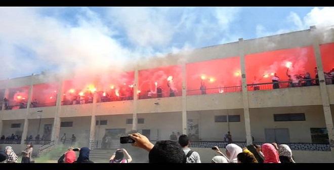 الفديو من ثانوية طارق بن زياد في براقي - الجزائر
