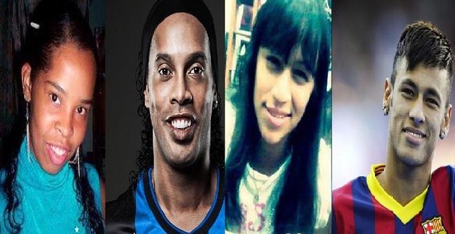 بالصور.. فتيات نسخة طبق الأصل من نجوم كرة القدم