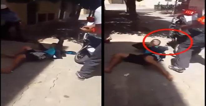 بعد إطلاق النار عليه شاب يحاول ذبح نفس بفاس
