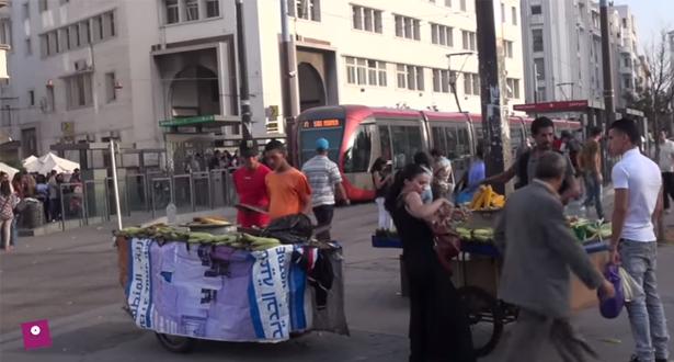 شارع محمد الخامس..تجارة النهار ودعارة الليل