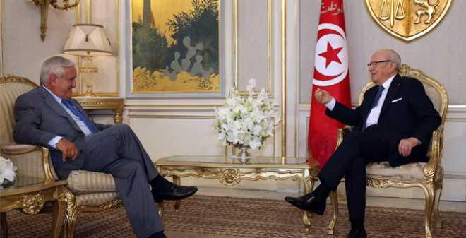 تونس: قايد السبسي يستقبل جون بيير رافاران