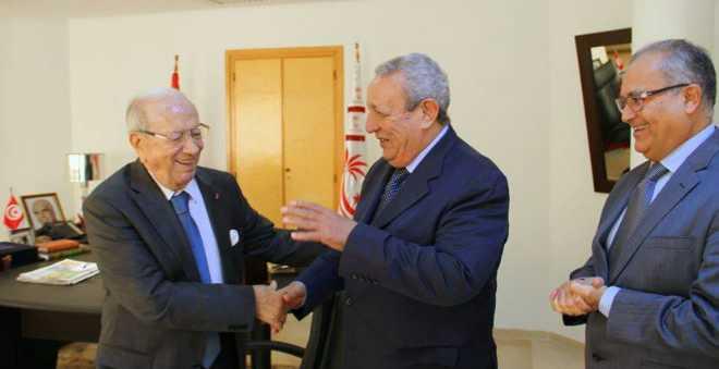وزير الخارجية التونسي يستقبل السفير المغربي محمد فرج الدكالي