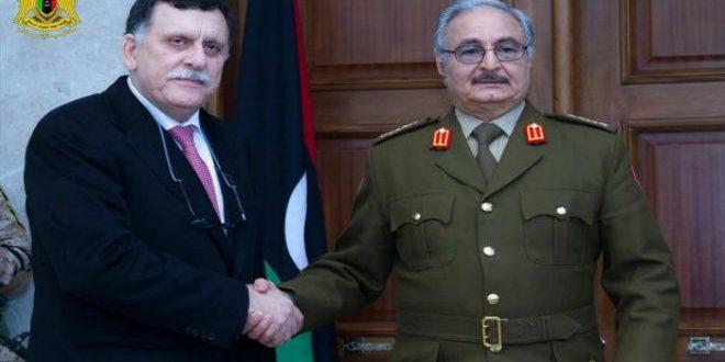 حكومة الوفاق والموالين للجنرال خليفة حفتر