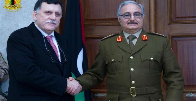 إيطاليا تقوم بوساطة بين حكومة الوفاق والموالين للجنرال خليفة حفتر