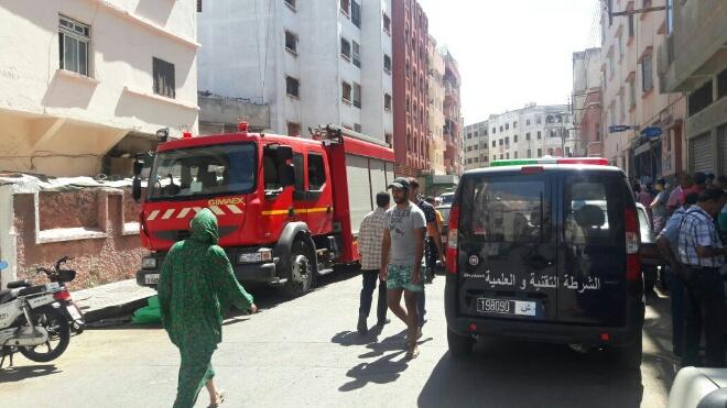 بعد انفجار بوركون.. ''الغاز'' يهز مقهى ويخلف خسائر كبيرة